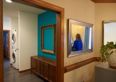 oak city chiropractic hallway